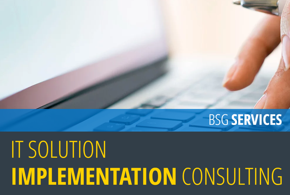 IT SOLUTION <br>IMPLEMENTATION CONSULTING