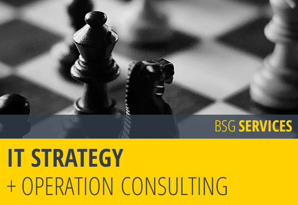 IT STRATEGY + OPERATION CONSULTING
